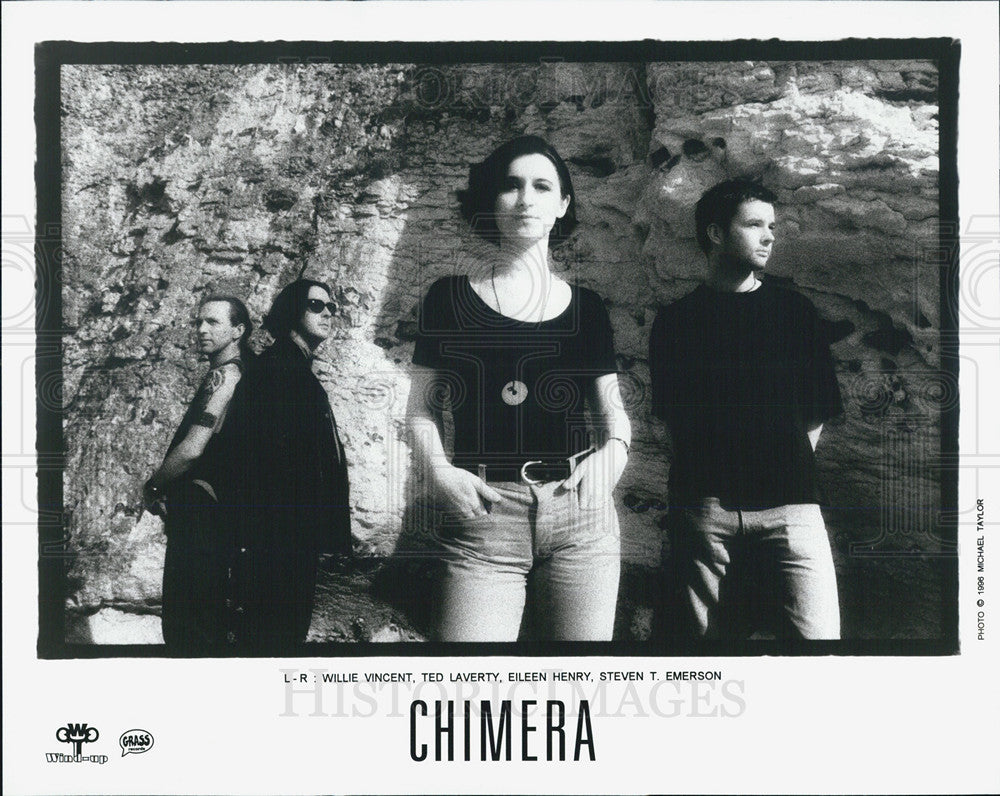 1996 Press Photo Band Chimera Vincent Laverty Henry Emerson - Historic Images