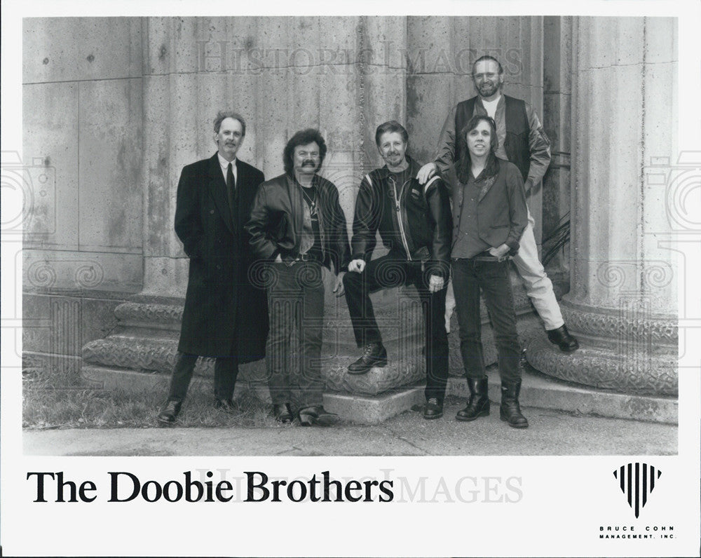 Press Photo of American rock band The Doobie Brothers - Historic Images