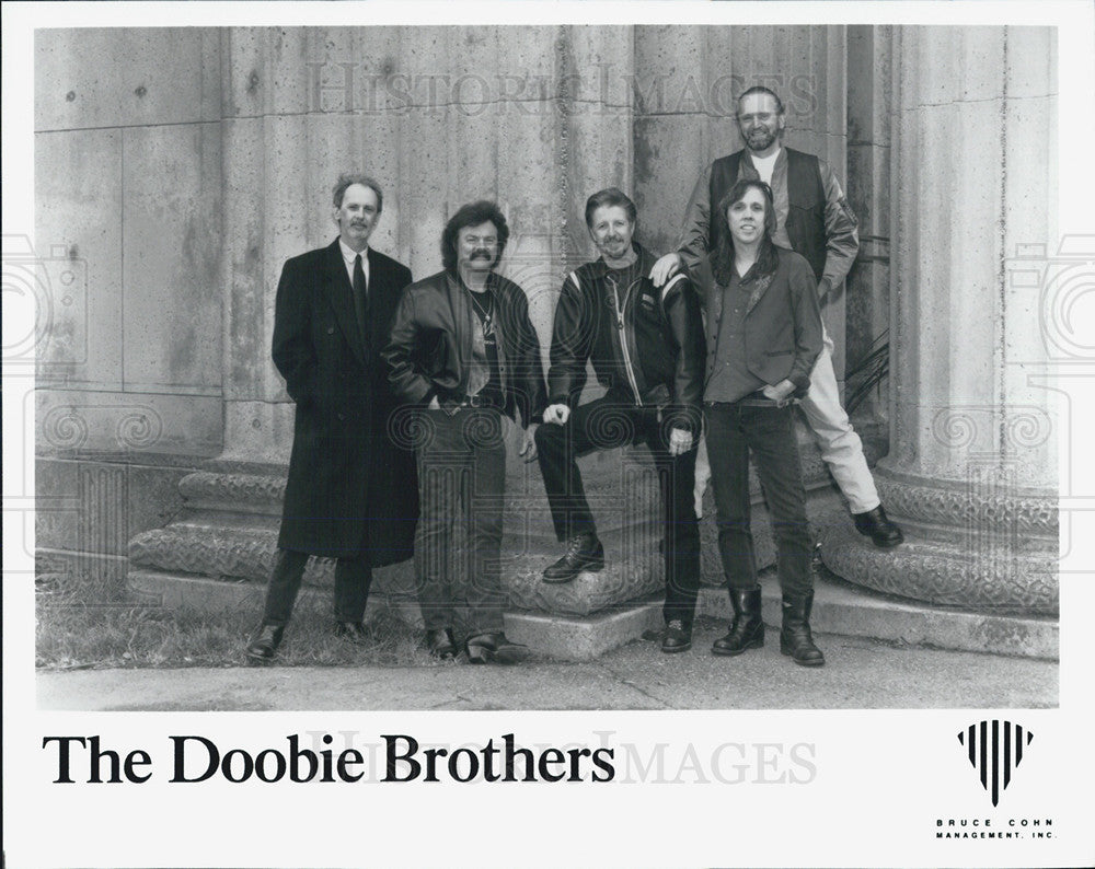 Press Photo The Doobie Brothers - Historic Images