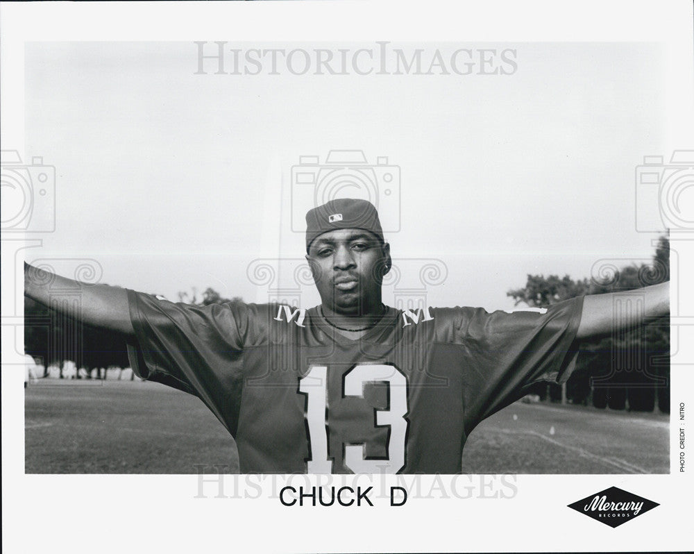Press Photo Chuck D - Historic Images