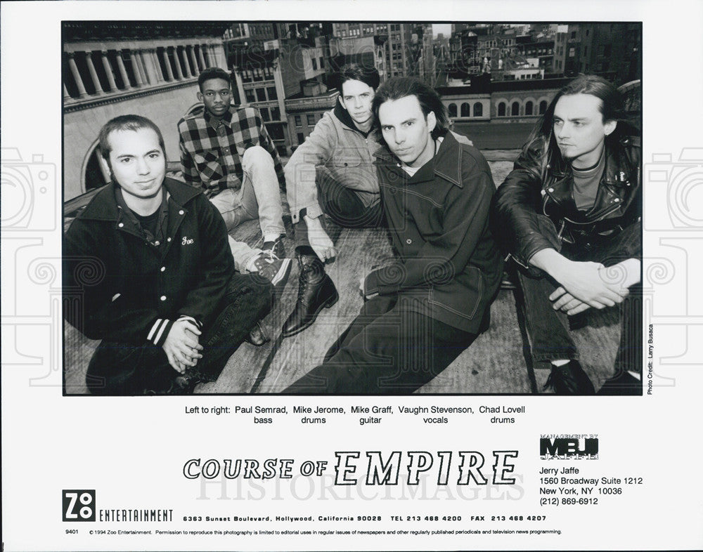1994 Press Photo Zoo Entertainment Present Course of Empire - Historic Images