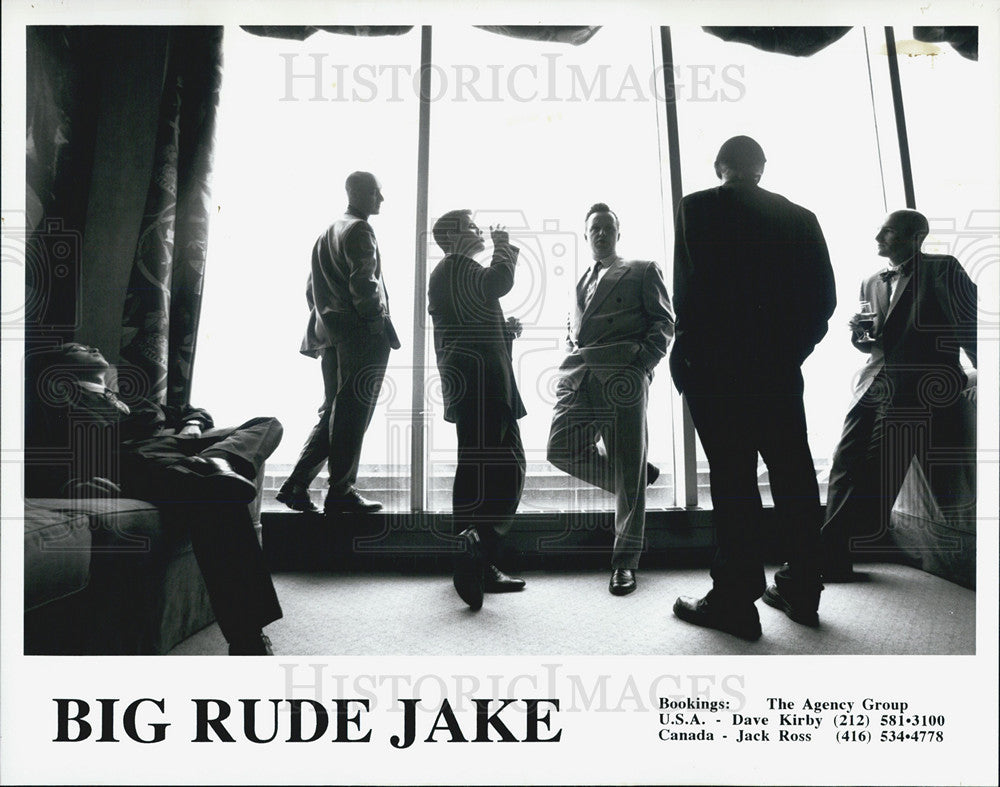 Press Photo Big Rude Jake - Historic Images