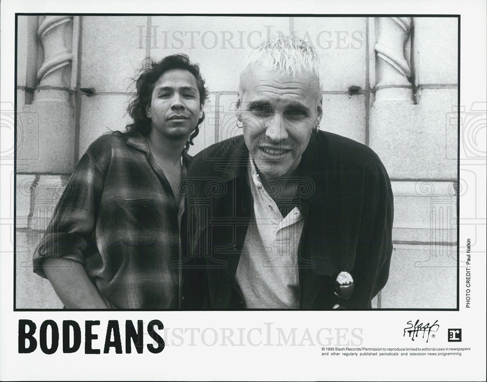 1995 Press Photo Bodeans - Historic Images