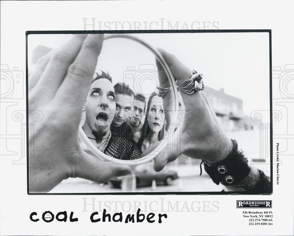 Press Photo Coal Chamber - Historic Images