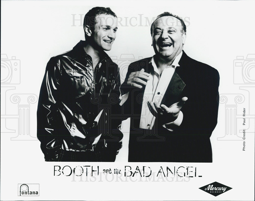 Press Photo Booth and the Bad Angel Tim Booth Angelo Badalamenti - Historic Images
