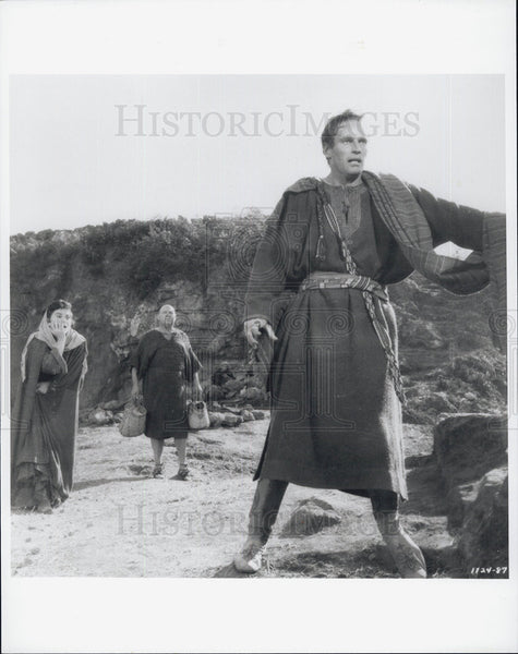 "1959 Press Photo Actor Charlton Heston In Movie ""Ben-Hur"" - Historic Images"