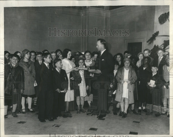 1933 Spelling Bee Dorothy Valkovitch - Historic Images