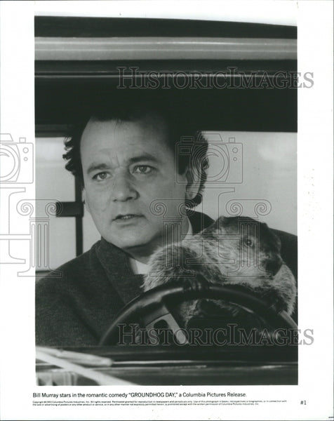 1993 Bill Murray Groundhog Day Promo - Historic Images