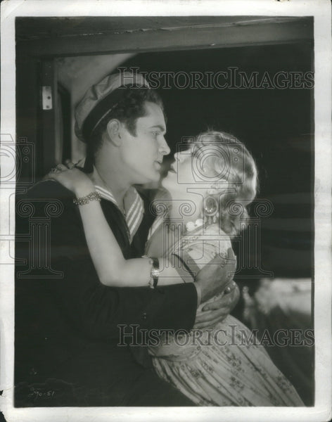 1928 Lloyd Hughes and Mae Murray Movie - Historic Images