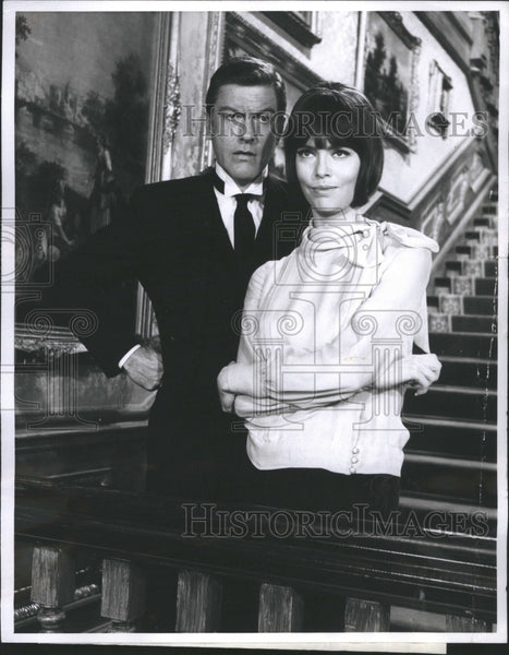 1967 Richard Wayne Dick Van Dyke Actor - Historic Images