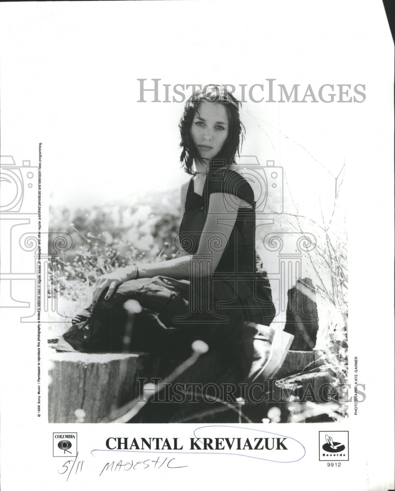 1911 Chantal Jennifer Kreviazuk Musician So - Historic Images