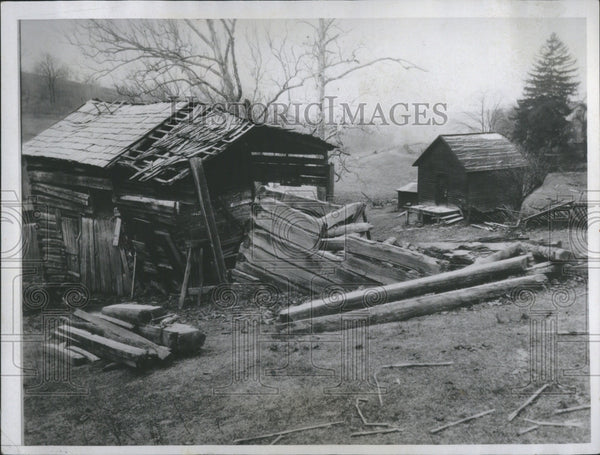 1934 Birthplace of Author William Holmes McGuffey, Henry Ford will restore - Historic Images