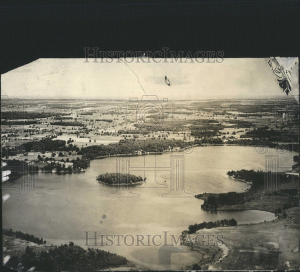 1926 Press Photo Angelus Lake