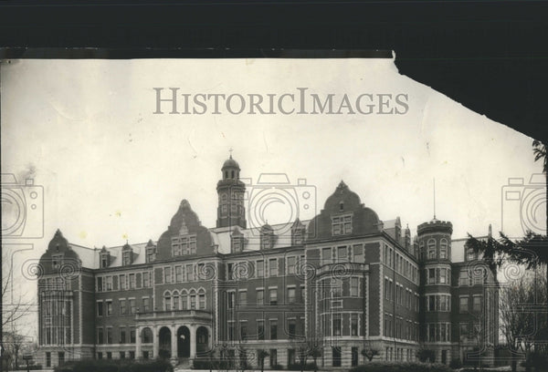1921 Press Photo St.Mary's Academy College