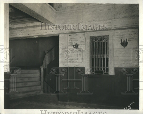 1921 Press Photo Lobby and box office Apollo theatre