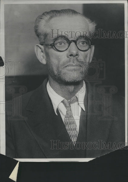 1923 Press Photo Daniel Russell Murder Charge Trial