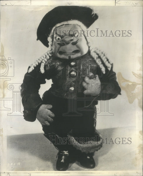 1930 Puppets New Gullinie Playing - Historic Images