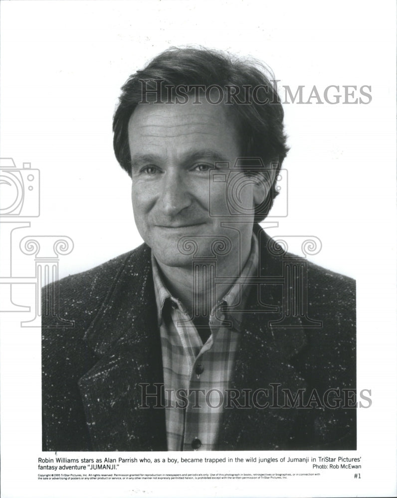 1997 Press Photo Robin Williams