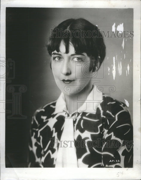 1927 Press Photo Aileen Pringle film actress