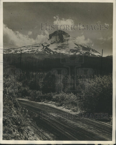 1928 Press Photo Mount Hood Oregon