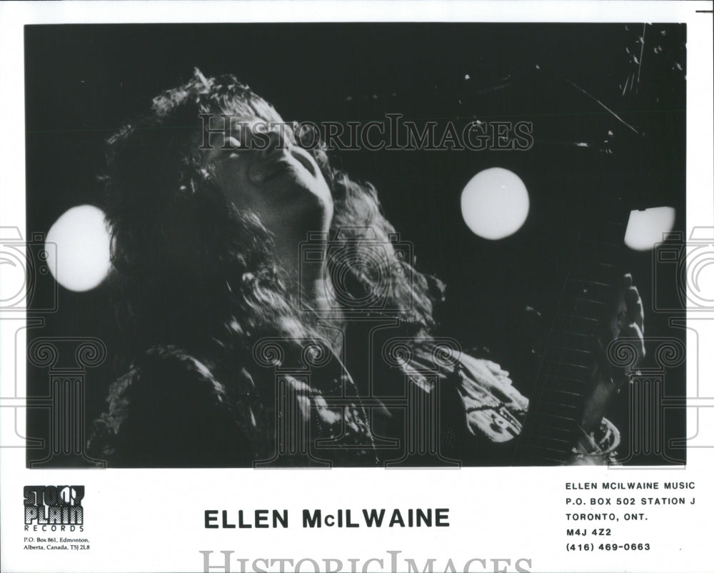 1992 Press Photo Ellen McIlwaine American Singer-Songwr - RRS83087 - Historic Images