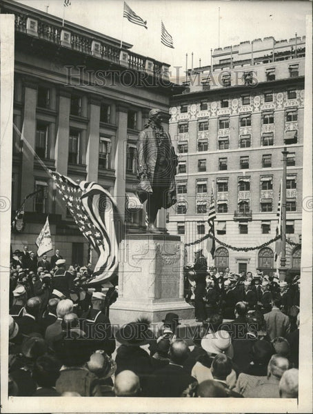 1923 Alexander Hamilton Movement - Historic Images