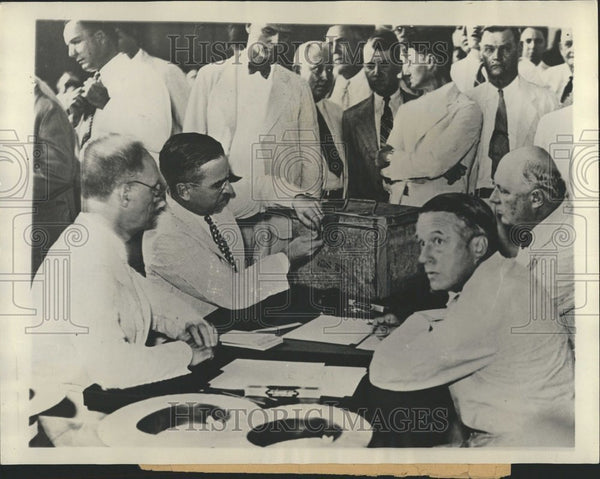 1933 New Orleans Recount Amendment Vote - Historic Images