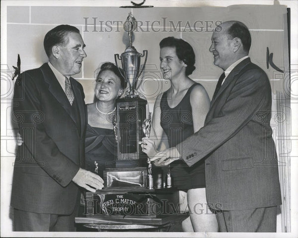 1958 Fred C. Matthew Trophy Athletics - Historic Images
