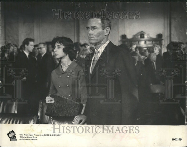 1962 Mrs. Newton Minew is shown with Henry - Historic Images