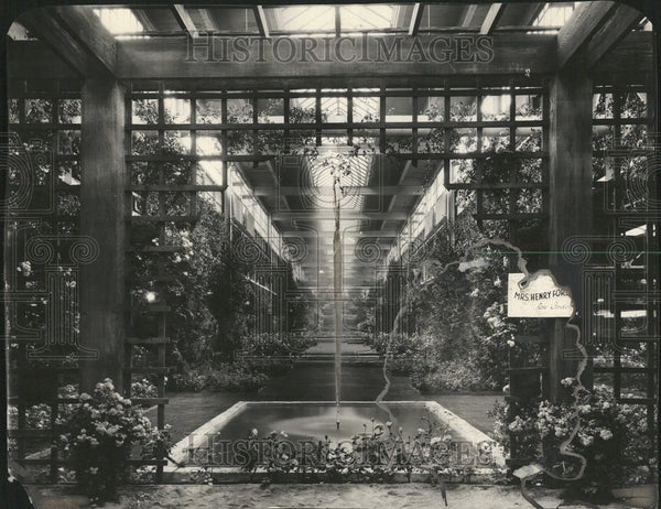 1928 Flower show North America - Historic Images