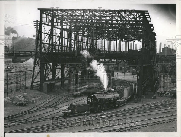 1937 Cambria Plant Bethlehem Steel Company - Historic Images
