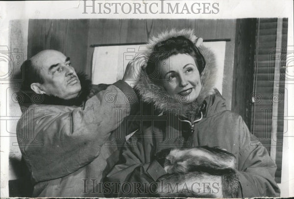 1954 First Woman North Pole Visit Parka - Historic Images