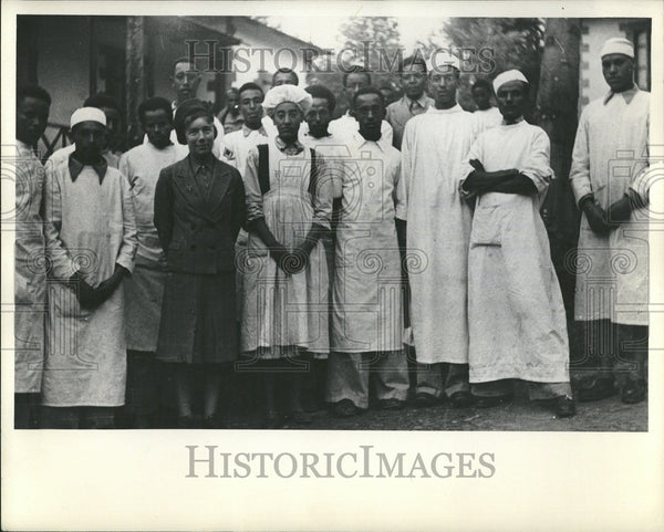 1948 Ethiopia WHO Organization Doctor - Historic Images