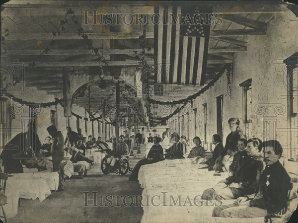 1911 Hospital near Washington - Historic Images