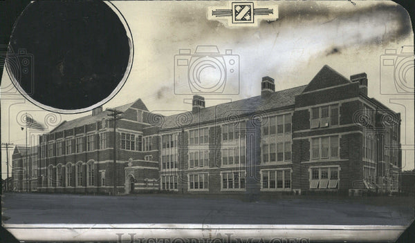 1922 Building Detroit School - Historic Images