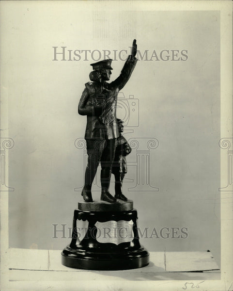 1935 News Traffic Safety Trophy - Historic Images