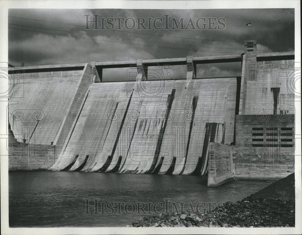 1937 Dam Purpose Water Structure Leeves - Historic Images