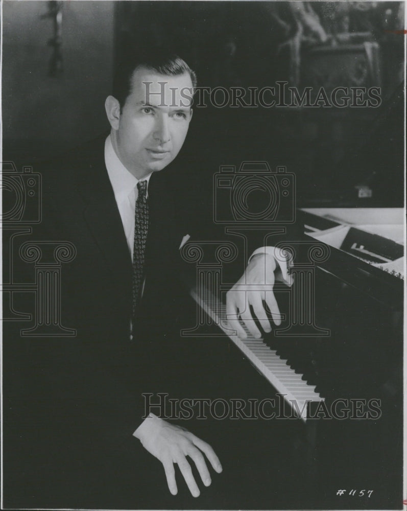 1962 brilliant pianist Grant Johanneson - Historic Images