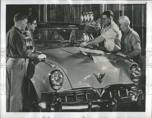 1952 Stude-biker Automobile Plant South Ind - Historic Images