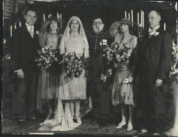1928 Greek Diplomat Diamantopoulos Weds - Historic Images