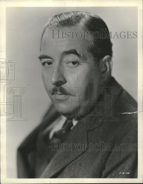 1932 Walter Connolly American Actor - Historic Images