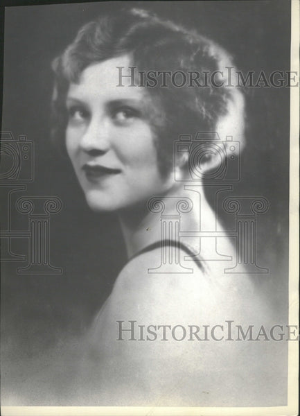 1930 Actress Margaret Frueauff Fanning Perr - Historic Images