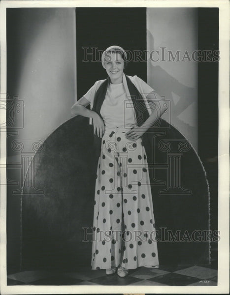 1931 Rita LaRoy..screen player - Historic Images