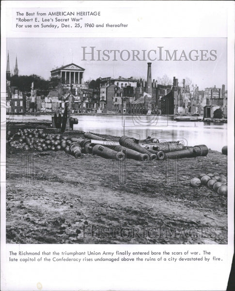 1960 The Richmond Union Army war capitol - Historic Images