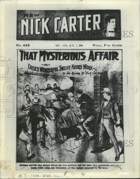 1908 New Nick Carter Magazine - Historic Images