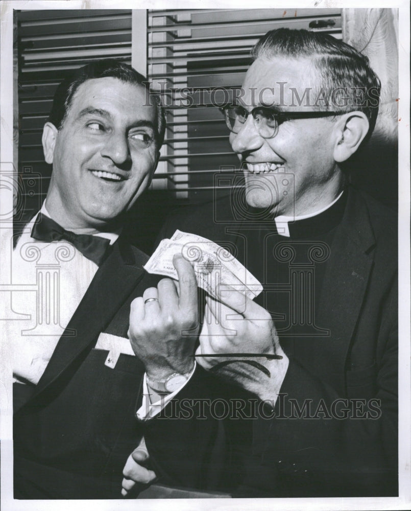 1961 Danny Thomas Actor Alfred D'Huyvetter - Historic Images
