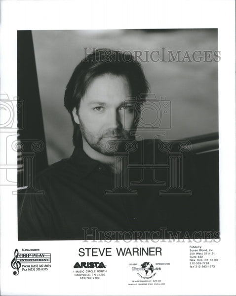 1992 Steve Wariner Entertainer Music Singer - Historic Images