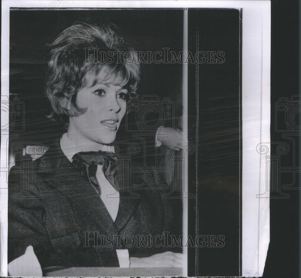1963 Jill St John American Actress Diamonds - Historic Images