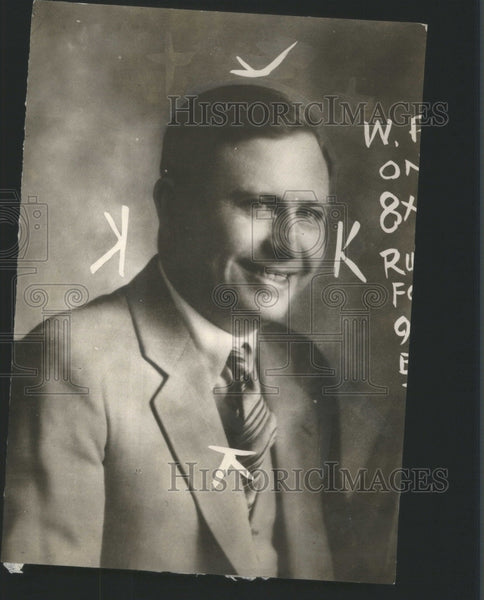 1928 Johnny Ryan Gambler Man America - Historic Images