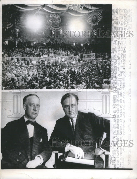 1924 1924 Democratic National Convention - Historic Images